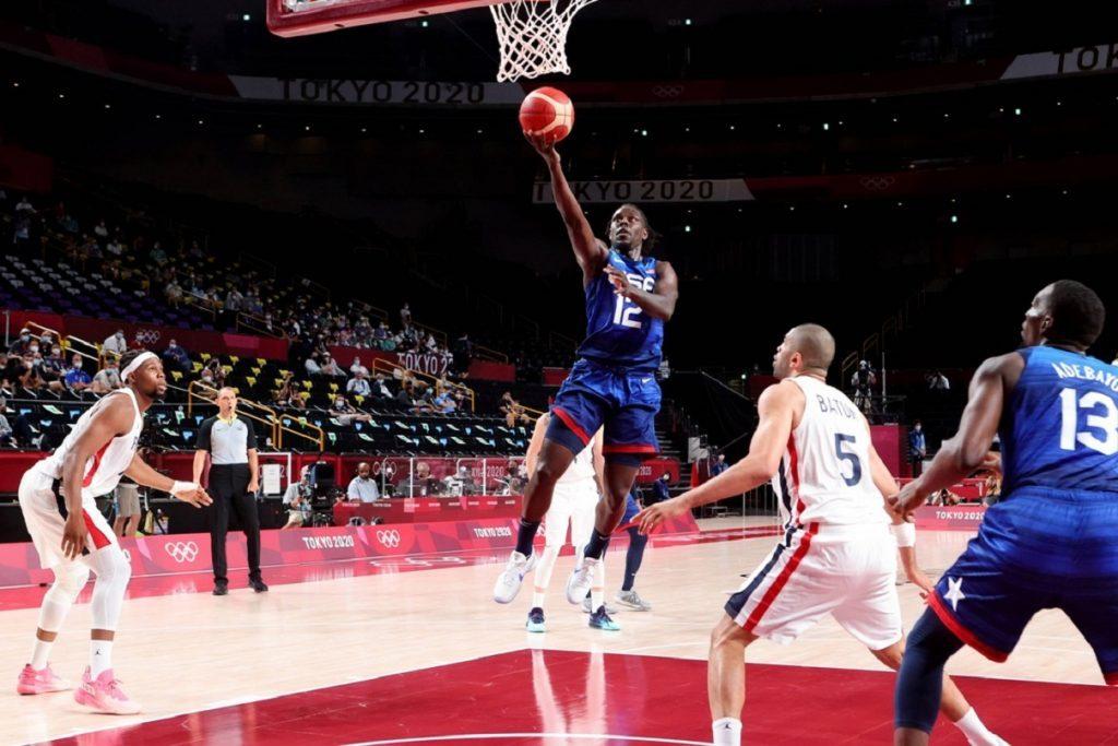 Francia-USA, basket Olimpiadi Tokyo