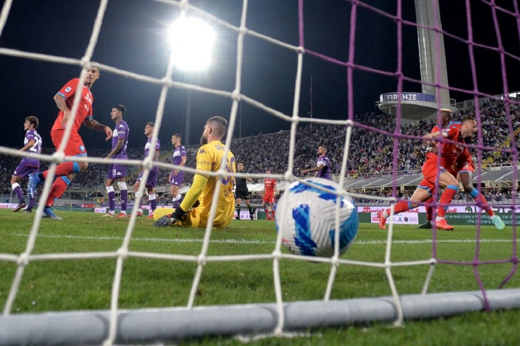 gol Rrahmani, Fiorentina-Napoli