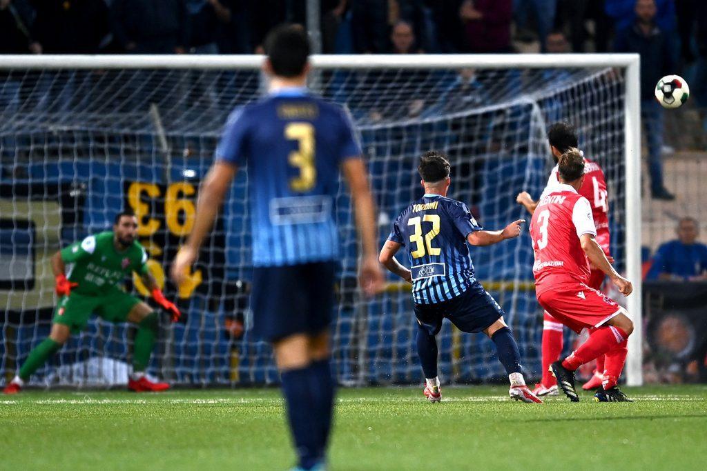 gol Tordini, Lecco-Padova